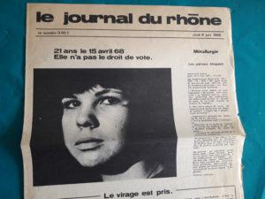 La jeunesse a été déterminante dans le démarrage du mouvement de mai-juin 1968, et les moins de 21 ans ont fait entendre dans la rue ce qu'ils avaient sur le cœur (© Pierre Nouvelle).
