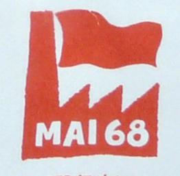 De mai-juin 1968, ces cinquante derni-res années ont été marquées par de luttes sociales géritières du mouvement étudiant et social (© DR/Beaux-Arts Paris 1968).