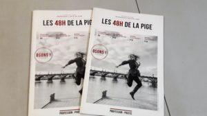 Cette année encore, plusieurs dizaines de jeunes journalistes pnt rejoint les 48 heures de la pife qui se déroulait dans le cadre de l'évole de journalisme de Bordeaux (© Pierre Nouvelle).