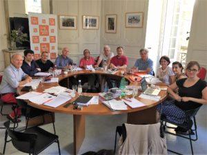 Une partie importante du Conseil national de CFDT-Journalistes réuni à Bordeaux a été consacré aux journalistes pigistes et à la précarité dans la profession au fil d'un large tour de table de la situation des entreprises (© Elise Descamps).