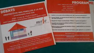 Ateliers-débats, temps convivial et table-ronde su succéderont(© UTI CFDT Lyon-Rhône/Pierre Nouvelle).