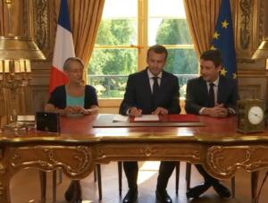 Malgré des propos apaisants, Emmanuel Macron semble avoir donné un coup d'arrêt au mouvement de grève des cheminots (© DR/BFM TV).