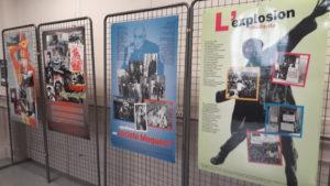 Dans le cadre dece cycle mémoriel sur mai-juin 68, une exposition se déroule jusqu'à fin juin au rez de chaussée de la mairie du 3e arrondissement de Lyon (© Pierre Nouvelle).