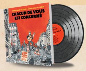 Entre le desinateur libertaire, Jacques Tardi, et l'ex militante maoïste Dominique Grange, qui font route dans la vie depuis longtemps, la coopération produit un livre-disque de grande qualité (© DR).