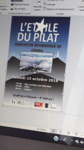 La 4e édition du festival oecuménique de cinéma L'Etoile du Pilat sera placé en octobre 2018 sous le sceau de la fraternité (© Emmanuelle Blanchard).
