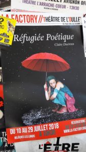 Parmi d'autres sujets d'actualité, a question de l'immgration était très prégnante, traitée avec réalisme ou sur le mode poétique (© Pierre Nouvelle).
