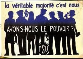 A la fin de son mandat de permanente CFDt, Madeleine a rejoint le PSU où elle s'estt investi dans la solidarité avec les étrangers (© ITS/PSU).