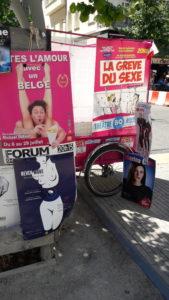 Traitée sérieusement, avec humour ou gravité, la relation amoureuse et l'acte sexuel, l'IVG comme le viol sont au couer de plusieurs des s^éctacles du festival off d'Avignon 2018 , la relation amoureuse et l'acte sexuel