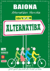Les basque, habitués aux actions militantes de longue haleine ont ouvert la voie à un mouvement qui entend que la population change ses pratiques et habitudes de vie (© DR Alternatiba).
