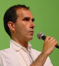 François Veillerette est un membre d'EELV, conseiller régional de Picardie depuis 2010, qui se présente aux européennes en position de numéro deux sur la liste menée par Karima Delli dans le Sud-Ouest. Il a été président de Greenpeace France de 2002 à 2005 et un expert sur le sujet de la pollution par les pesticides (© DR).