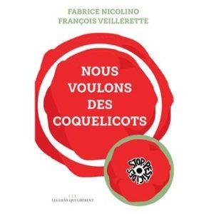 """Trois ans après l'(attentat contre Charlie Hebdo, où il fut grièvement blessé, avec le livre et la campagne """"Nous voulons des coquelicots"""", le combat de Fabrice Nicolino, journaliste engagé, prend un nouveau départ (© DR)."""