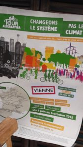 Vienne était les 30 et 31 août une des 200 étapes du Tour Alternatiba 2018 © Pierre Nouvelle)