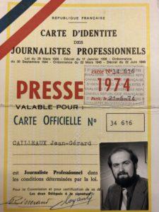 Viscéralement attaché à la profession, norre confrère est resté journaliste plus de quarante ans, toujours fidèle à ses convictions et son engagement (© DR/CCIJP).