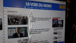 Depuis sa crétion à la Libération, le quotidien La Voix du Nord a beaucoup évolué. Au nom de la CFDT, Jean-Gérard Cailleaux était aux premières loges quand nationalement a été discutée l'informatisation des rédactions de la presse quotidienne régionale (© DR/VDN).