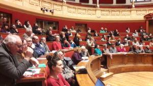 Le 1er mars 2018n les universitaires lyonnais, dont certains interviendront lors de ce colloque, présentaient un ouvrage original consacré à Lyon en luttes dans les années 68 (© Pierre Nouvelle).