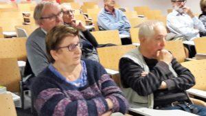 Une cinquantaine de personnes ont participé à la rencontre consacrée à l'autogestion dans le cadre des Archives municipales de Lyon ( © Pierre Nouvelle ).