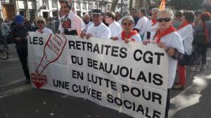 La colère des retraités et personnes âgées est partagée par l'ensemble des organisations syndicales (© Pierre Nouvelle).