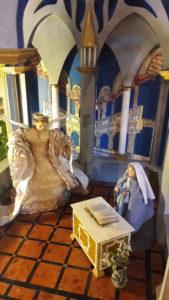 C'est avec l'annonce faite à Marie que débute le récit de la Nativité (© Pierre Nouvelle).