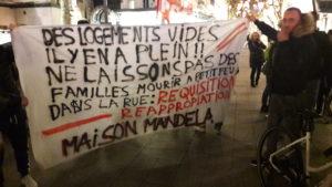 Dans l'agglomération lyonnaise, la question de l'accueil des étrangers reste particulier pressante (© Pierre Nouvelle).