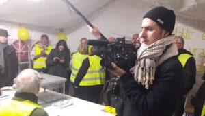 Les opérations électorales ont pris fin sous le regard de la caméra des envoyés spéciaux de France 5 © Pierre Nouvelle).