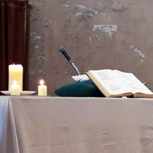 Autour de la parole commune, issue de la Torah et des Evangiles, les chrétiens de différentes confessions ont partagé une foi commune en Dieu, père, fils et esprit-saint (© Pierre Nouvelle).
