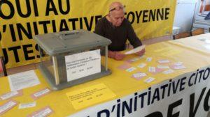 A Saint-Clair-du-Rhône, un millier d'habitants sont conviés à une votation jusqu'au 14 janvier pour s'exprimer sure le Référendum d'initiative citoyenne (© DR/Maud Lamassiause/L'Essor).