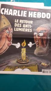 Le procès de sep responsables du dioc-se de l'Église catholique de Lyon a débuté le jour-même du 4e anniversaire de l'attentat contre Charlie Hebdo (© Pierre Nouvelle).
