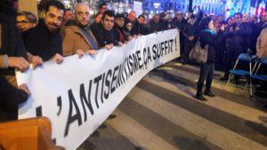 A Lyon, comme dans de nombreuses villes de France, des citoyens ont su dire non à l'antisémitisme (© Pierre Nouvelle).