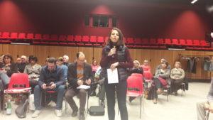 A Condrieu (Rhône), le grand débat a duré plus de trois heures dans une aùbiance respectueuse et soucieues de faire s'exprimer le maximum de personnes (© Pierre Nouvelle).