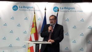 Comme l'a souligné le président régional Handisports, la collectivité Auvergne-Rhône-Alpes apporte son soutien à ces sportifs (© Pierre Nouvelle).