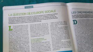 Pour cadrer les dérives d'un grand marché économique, les règles sociales doivent être renforcées (© Pierre Nouvelle).