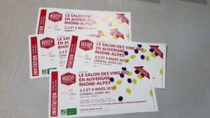 Une trentaine de vignerons auralpins proposeront leurs productions lors du 7e salon des vins de Condrieu du 2 au 4 mars 2019 (© Pierre Nouvelle).