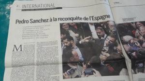 Avec les élections législatives revient aussi la question des nationalismes dont celui de la Catalogne (© Pierre Nouvelle).