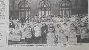 Dans les industries du cuir, les patrons de la branche ont crié au lorsque la loi a vu le jour en 1923 (© Pierre Nouvelle).