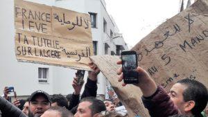 La'ttitude de l'ex pays-coloniasteur sera regardé de près en Algérie comme en France © Pierre Nouvelle).