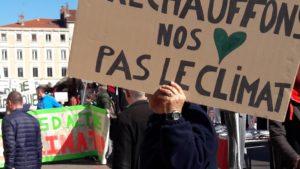 Après leur participation à la marche pour le climat à Vienne, c'est lors de leur assemblée du 30 avril que l'on débattra de l'avenir de la planète © Pierre Nouvelle).