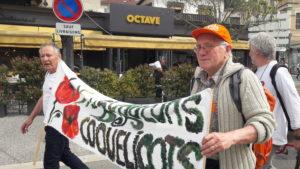 Des manifestants d'origines diverses, avec ou sans appartenance syndicale et politique figuraient au nombre des manifestants pour la planète (© Pierre Nouvelle).