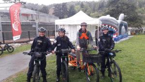 Le vélo a de plus en plus la côte à vienne (Isère) et au commissariat de police une brigade cycliste s'est mise en place (© Pierre Nouvelle).