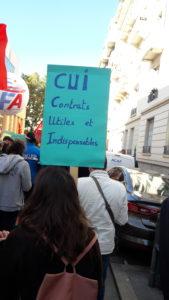 Les fonctionnaires souhaitent ne pas voir claqué leurs contrats de travail sur celui du privé ( © Pierre Nouvelle ).