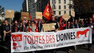 Ausein de la Fonction publioue aussi, la question dé l'égalité femmes-hommes est posée ( © Pierre Nouvelle ).