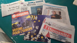 D'un côté à l'autre de l'échiquier social et politique européen, on attend beaucoup de la prochaine consultation ( © Pierre Nouvelle ).