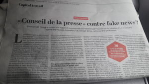 Vent de désaccord au sein des syndicats de journalistes où le SNJ-CGT refuse d'une instance avec les patrons alors même que la presse manque cruellement de moyens (© DR/Pierre Nouvelle).