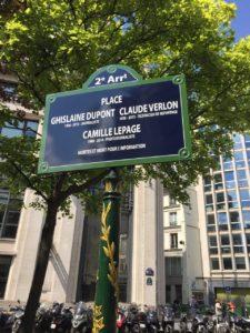 Vendredi 3 mai 2019, un vibrant hommage a été rendu aux journalistes Ghislaine Dupont, Claude Verlon et Camille Lepage, asssainés dans l'exercice de leur profession ( © DR/Jacqueline Papet ).