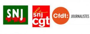 logo SNJ CGT CFDT