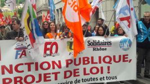 Face à un projet gouvernemental qui met en cause un des piliers de la République, une riposte unitaire était indispensable ( © Pierre Nouvelle ).