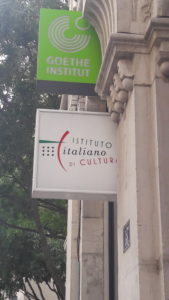 Avec quatre autres institutions culturelles, l'Institut culturel italien et le Goethe institut constitue la tête de pont du cluster Eunig à Lyon ( © Pierre Nouvelle ).