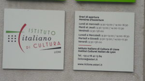 Avec Strasbourg et Paris, l'institut culturel italien de Lyon est l'une des trois antennes culturelles de la péninsule dans l'Hexagone ( © Pierre Nouvelle ).