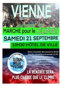 Cinquième marche pour le climat à Vienne : l'action continue et s'amplifie ( © DR/Citoyens pour le climat à Vienne ).