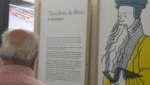 Au musée protestant de Mialet comme au Musée de la Réforme à Genève, la figure de Théodore de Bèze est mise à l'honneur ( © Pierre Nouvelle ).