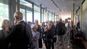 La foule qui se pressait les 11, 14 et 18 septembre à l'Institut Lumière lors de la présentation du programme anticipait l'affluence du festival qui débute ce samedi 12 octobre 2019 ( © Pierre Nouvelle ).